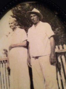 Camilla's Grandparents, an old picture