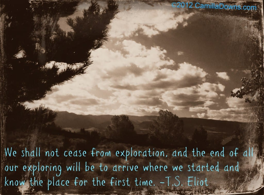 Exploration Ts Eliot Quotes Quotesgram: Exploring And Adventures