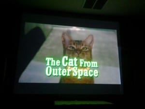 The Cat from Outer Space Move April 2014