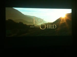 The Fox and the Child April 2013 Movie