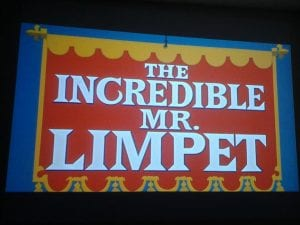 The Incredible Mr. Limpet Movie August 2013