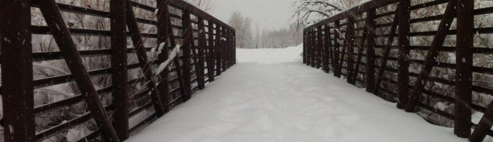 Snow Covered Bridge Bartley Ranch 2.2016