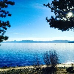 Kings Beach Lake Tahoe Listen Trust Jump 1.27.18